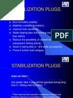 Stabilization Plugs