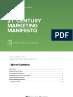 21st Century Marketing Manifesto Best Practices Guide