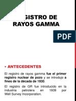 Registro de Rayos Gamma NGS