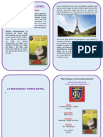 Diptico La Torre Eiffel