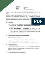 Demanda Reposicion Johnny Alvarado Mio