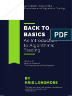 Intro to Algo Trading eBook