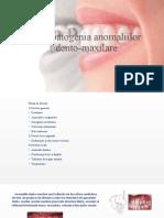 etiopatogenia malocluziilor faciale