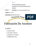 Proyecto Final Ascensor