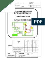 06 - Válvulas Direccionales Hidráulicas (C2)