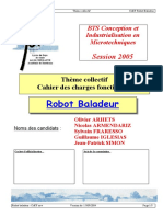 Robot Baladeur Cdcf
