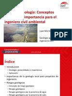 Tema 1 - Geología - Conceptos Generales e Importancia