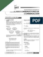 Tema 20 - Análisis Combinatorio III - Combinación