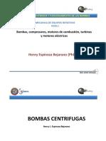 Equipos Rotativos -Tecnologías y Especificaciones Constructivas