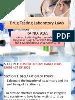 Drug Testing Laboratory Laws