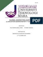 Globalization Seminar Report - Issue