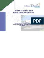 Norma de Diseño de La Red de Servicios de Salud