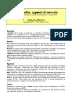 Mazziero - Appunti Commodity 17 10 2010