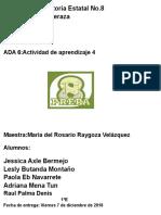 ADA 6_ Actividad de Aprendizaje 4 BLOQUE 3 LURIS