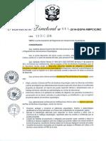 PLAN de MONITORIO ARQUEOLÓGICO