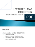 Lecture 1 Map Projection