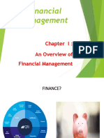 Nature, Scope,Objectives and Functions of Financial Management