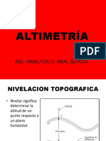 III Capitulo Altimetria