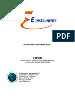 Terjemahan Manual Book E Instrument E8500.docx