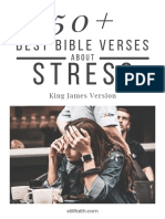 50+ Best Bible Verses About Stress