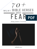 70+ Best Bible Verses About Fear