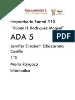 Ambiente Excel Jennifer Echazarreta