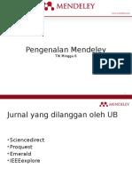 07. Mendeley