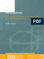 (Comparative Politics) Gauja Anika-Party Reform _ the Causes Challenges