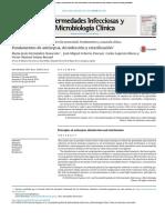 Fundamentos Antisepsia, Desinfección, Esterilización