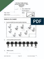 Java Samples P1 Maths CA1 2012 Pei Chunx