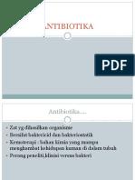 7. antibiotika