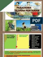 2 - Paradigma Penyuluhan Pertanian