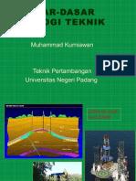 Dasar Geologi Teknik