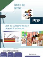 Administraciòn medicamentos