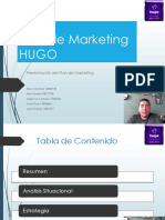 Plan de Marketing - HUGO - Mercadeo estratégico