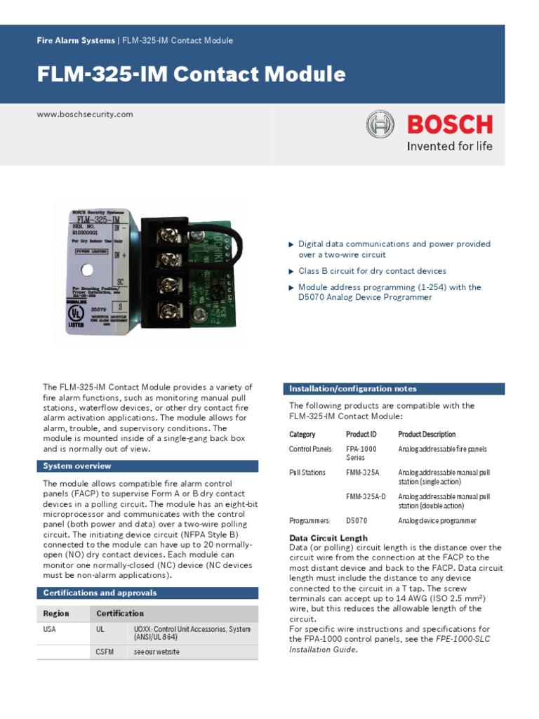 Bosch Alarm Pir Wiring Diagram