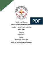 ADA5 EXCEL Ulises Hernández 1D