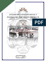 Contexto Social y Politico Del Peru en Los 80 y 90