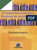 ENCUESTA NACIONAL SOBRE PRACTICAS DE LECTURAS