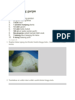 Kue Bawang Garpu