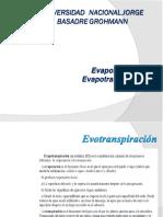 TEMA 2 - Evaporacion y Evapotranspiracion