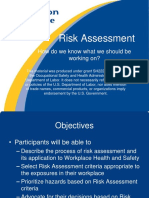 safety point of view risk assessment