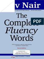 Kev Nair-The Complete Fluency Words