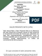 VPN y Tir Exposicion