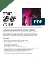 PSM 300 specificaties