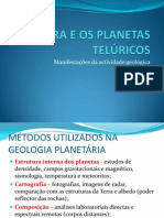 A TERRA E OS PLANETAS TELÚRICOS