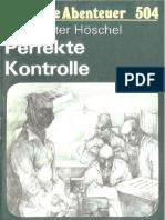 Das Neue Abenteuer 504 - Hans-Peter Höschel - Perfekte Kontrolle