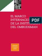 El Marco Internacional de La Institución Del Ombudsman