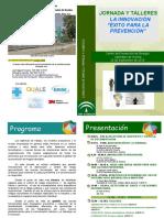 JORNADA INNOVACIÓN -Éxito Para La Prevención- 20-09-2018