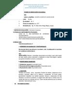 Informe de Quispe Huarcaya Jhon Kevin
